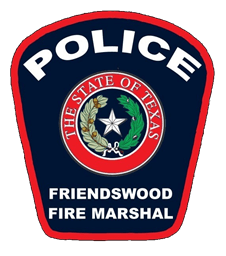 Friendswood Fire Marshal's Police Patch