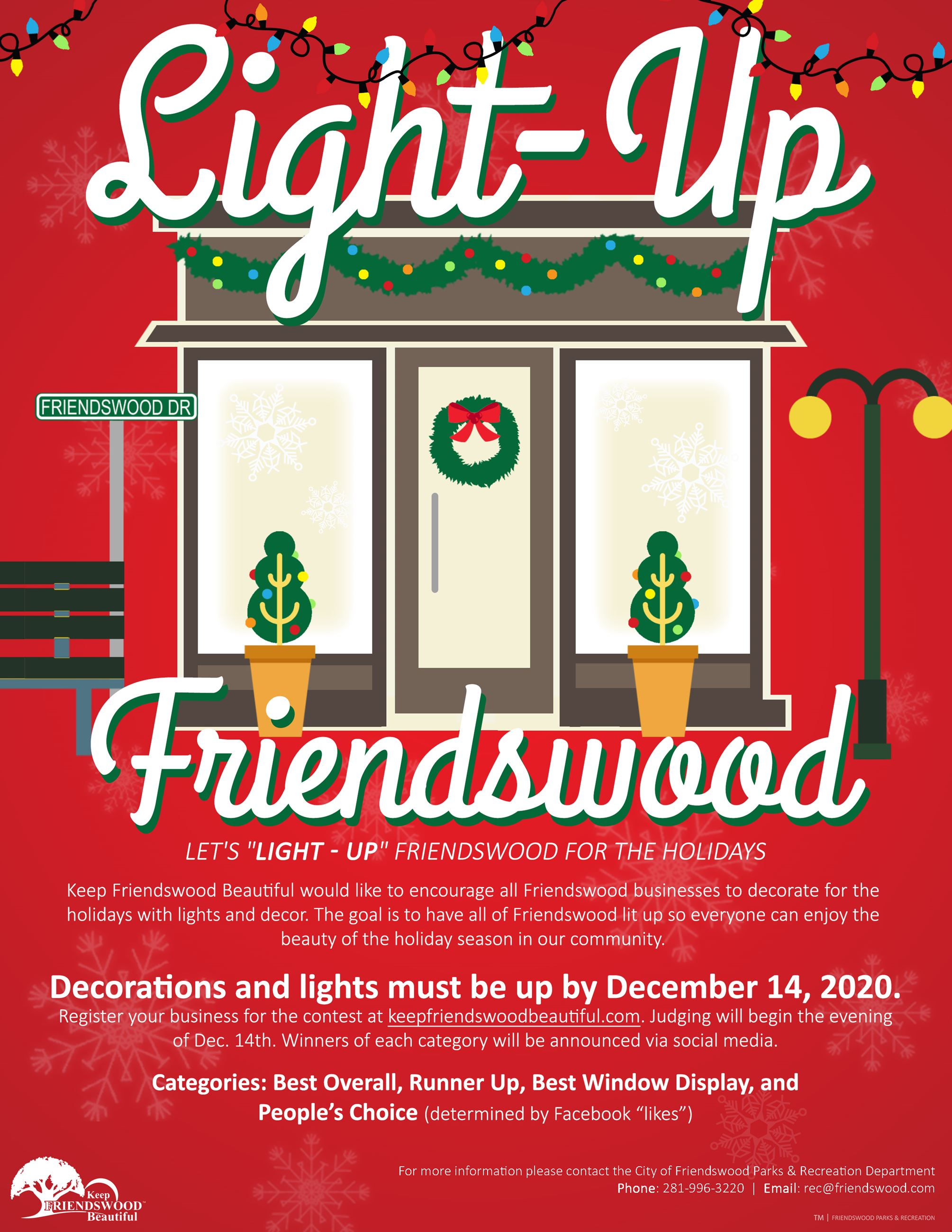 Light-Up Friendswood 2020